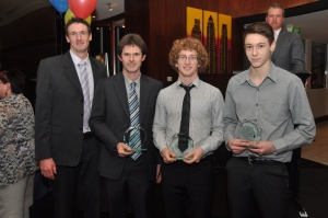 Tom Putland - Best & Fairest (2nd R). Photo courtsey of VSA