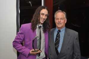 Fraser Smite - League Men Best & Fairest (L) and Ray Harris (R). Photo courtsey of VSA